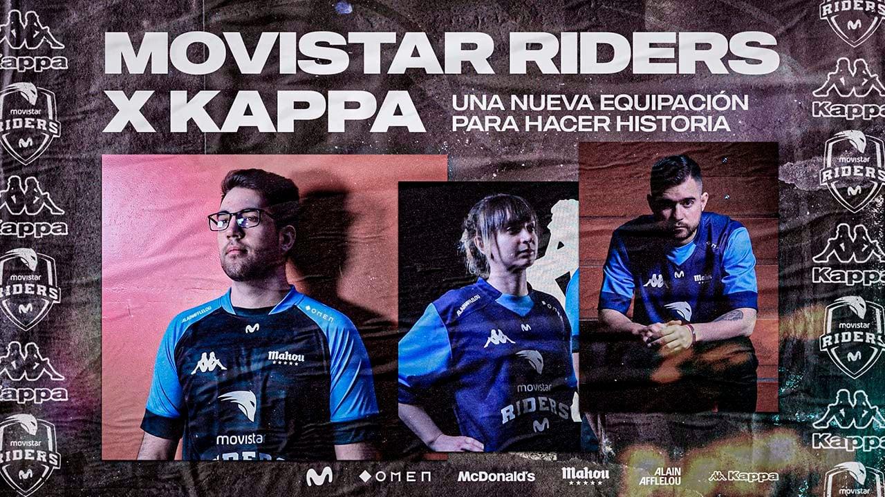 Camiseta Movistar Riders