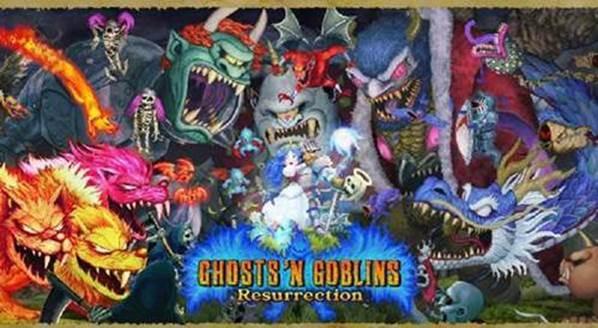 Capcom Ghosts 'n Goblins