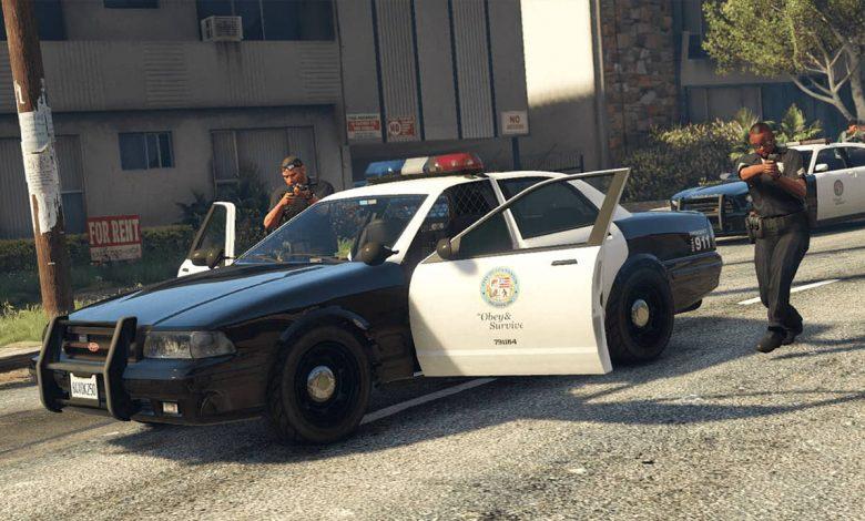 Policía GTA V