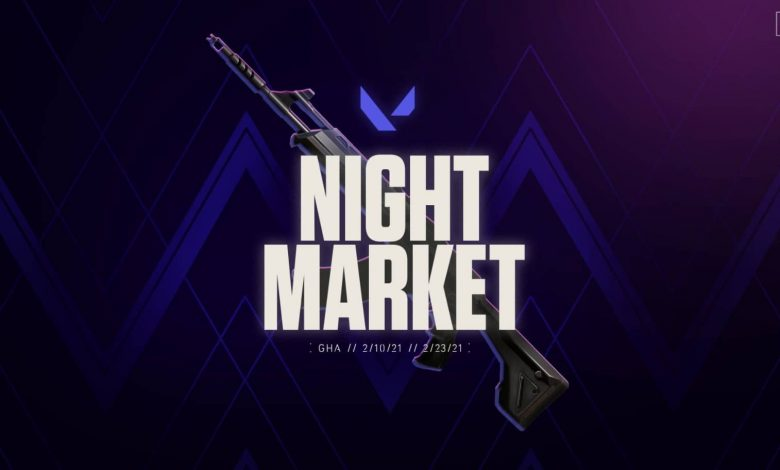 Mercado nocturno Valorant