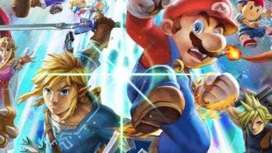 Nintendo Smash Zelda