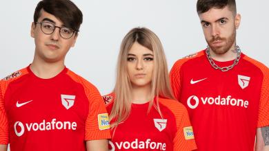 Vodafone Giants rebranding