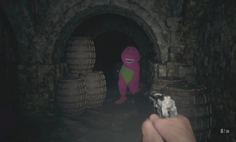 Barney Resident Evil 8