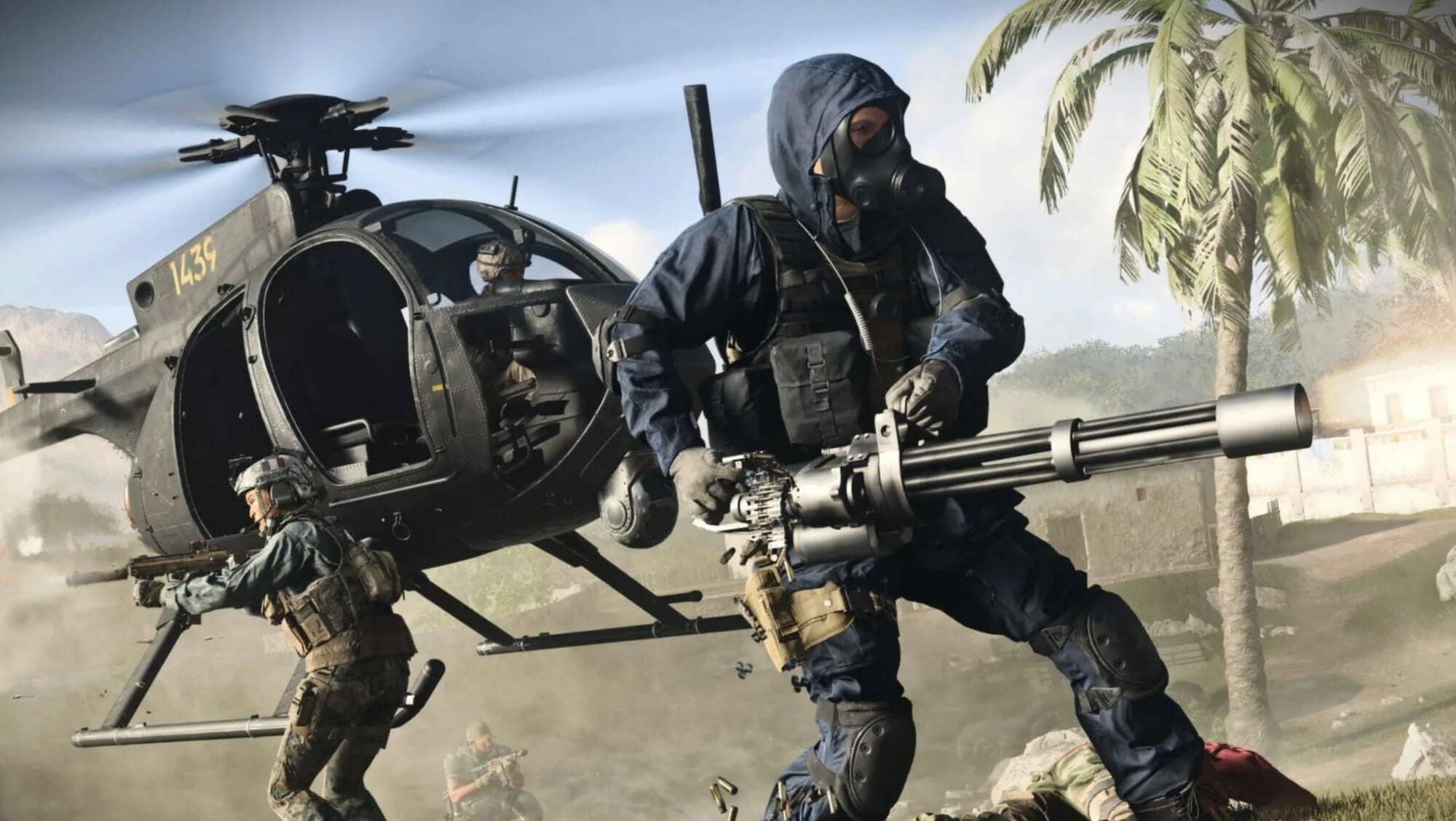warzone helicóptero