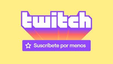 Suscripciones Twitch