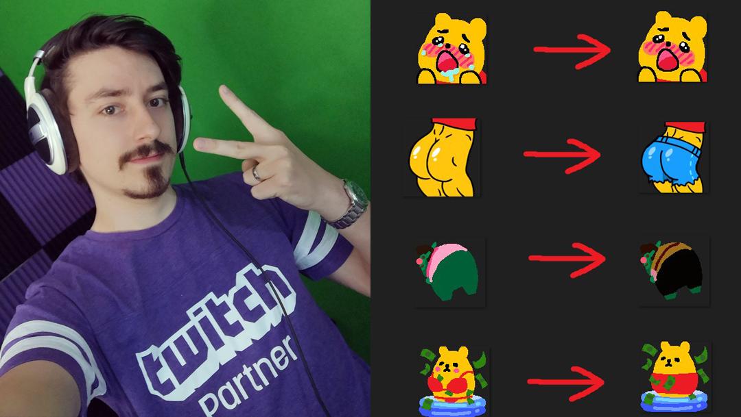 Ban emotes twitch pedguin