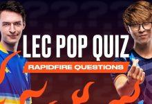 LEC Pop Quiz
