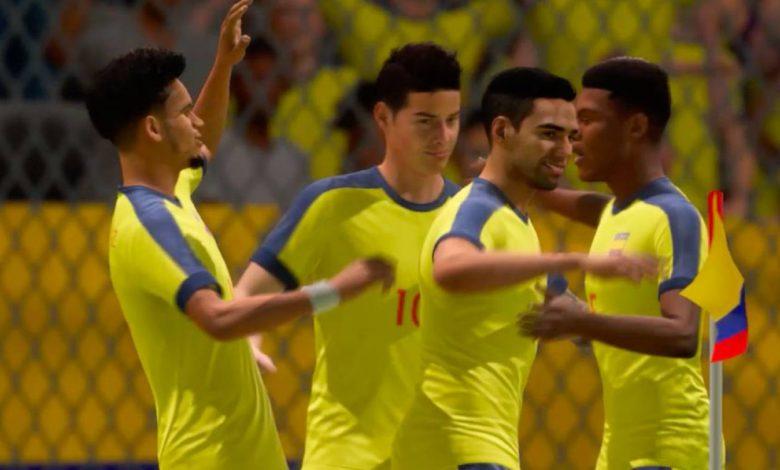 FIFA 22 selecciones